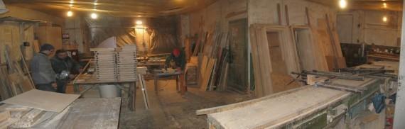 Подразделение по производству дверей и мебели для бани