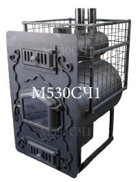 ПарАвозM530CЧ1,Лучшая банная печь, купить банную печь в Украине, профессиональная банная печь,