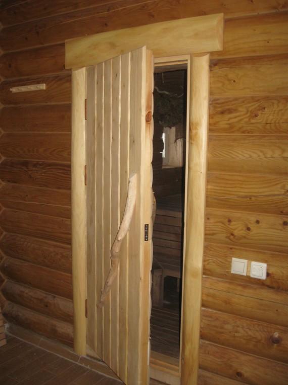 Дверь банная тройная термо влагостойкя