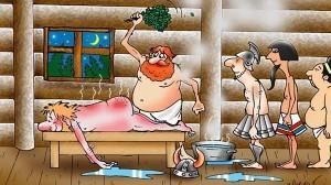 банщик в бане
