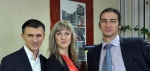 Максим Роменский, Виктория Мельник, Михаил Захаров