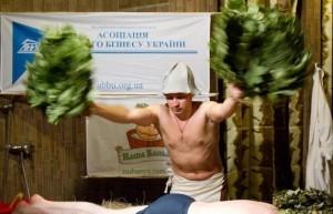 Егор Бордовский на Чемпионате Украины по банному искуссвту