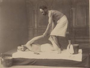Историческая баня в Грузии