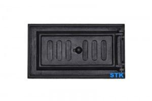 1 dver podduvalnaya STK432 , чугунная дверь для печь, купить дверь для пtчи SVT, Чугунное литье SVT, Чугунное литье STK